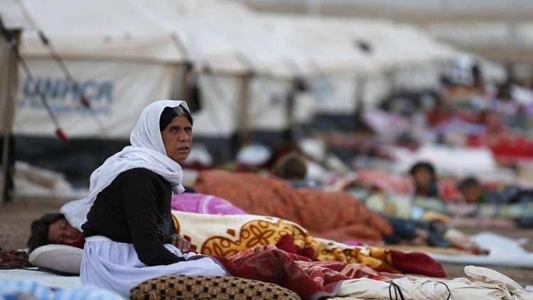 مخيم للنازحين في شمال العراق - أرشيف