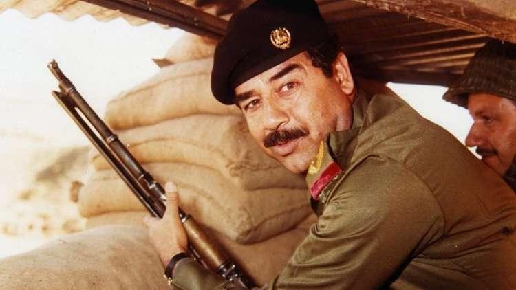 الرئيس العراق الأسبق صدام حسين