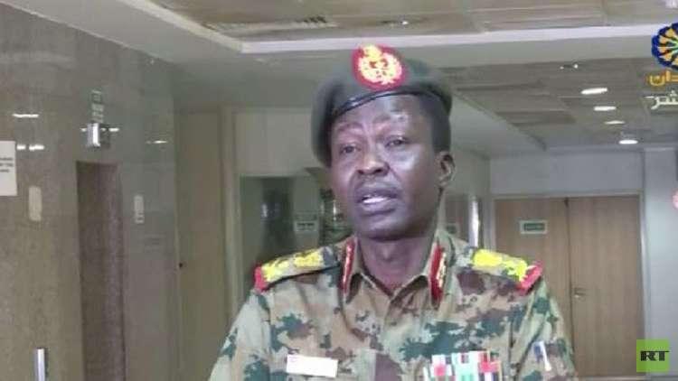 المتحدث الرسمي باسم المجلس العسكري الانتقالي في السودان، شمس الدين كباشي