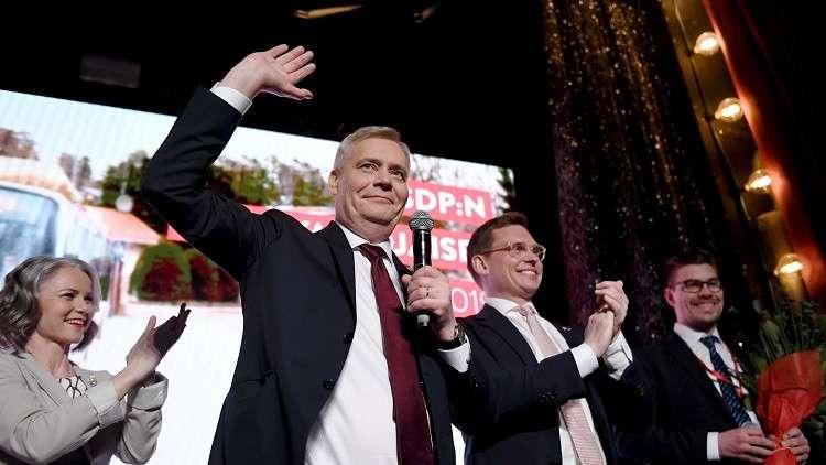 الحزب الاشتراكي الديمقراطي الفنلندي يعلن فوزه في الانتخابات
