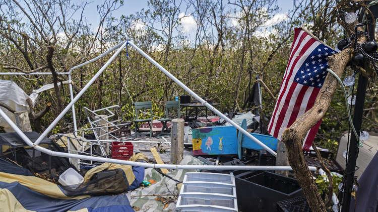 الإعصار يخلف 8 قتلى جنوبي الولايات المتحدة
