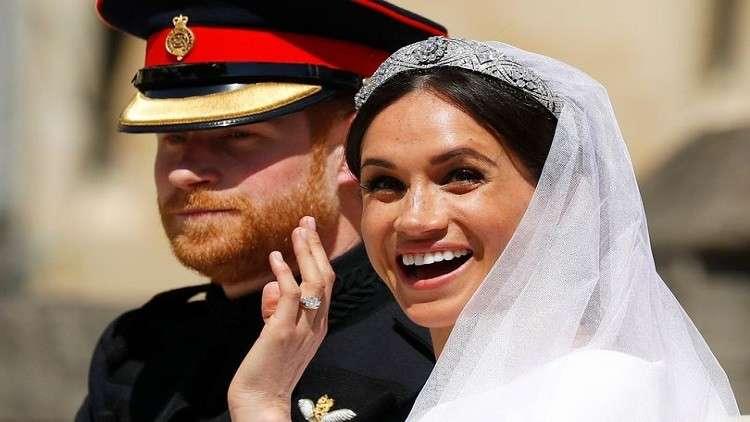 الأمير هاري وميغان ماركل يوم زفافهما