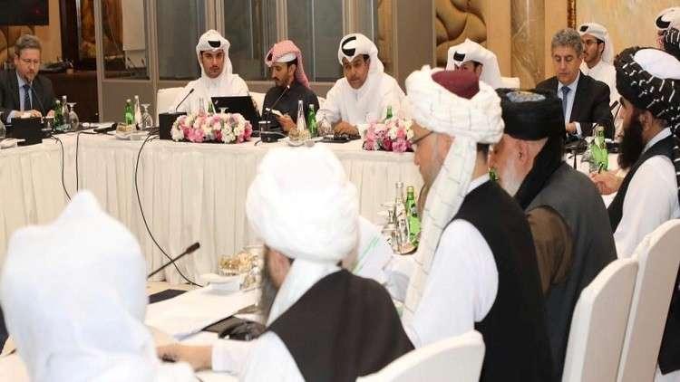 محادثات سابقة بين طالبان والولايات المتحدة وأفغانستان في قطر