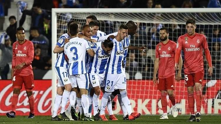ليغانيس يفرض التعادل على ريال مدريد في
