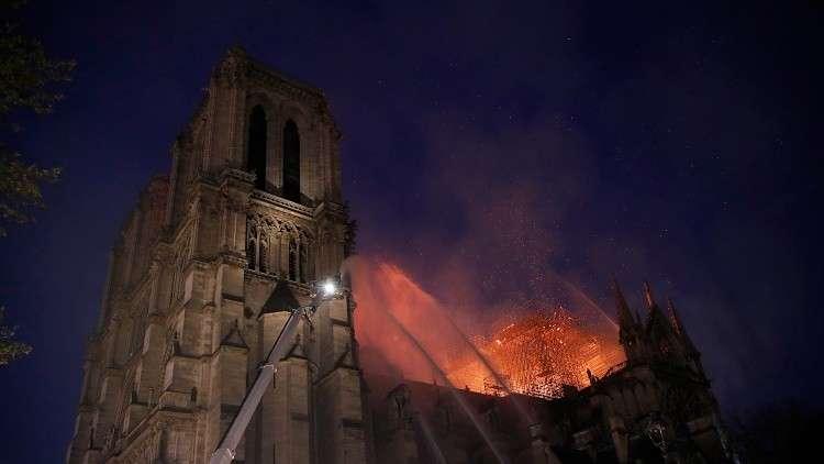 الكنيسة الروسية: حريق نوتردام مأساة للعالم المسيحي بأسره