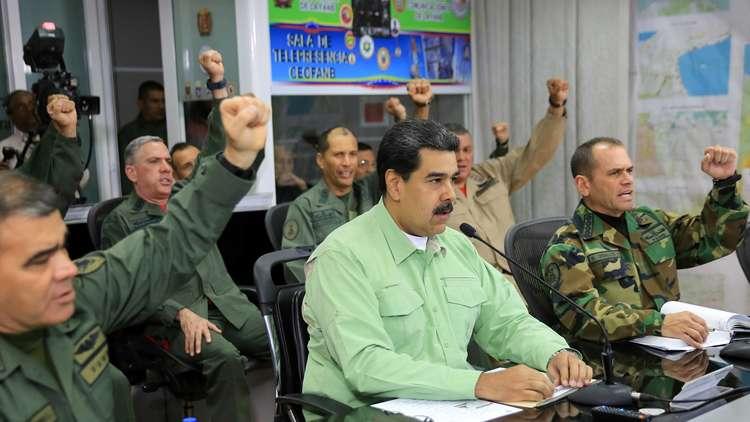 مادورو يستعد للحرب: هل يساند الشعب رئيس فنزويلا