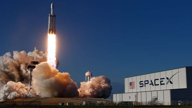 سبيس إكس تفقد الوحدة المركزية لصاروخ فالكون