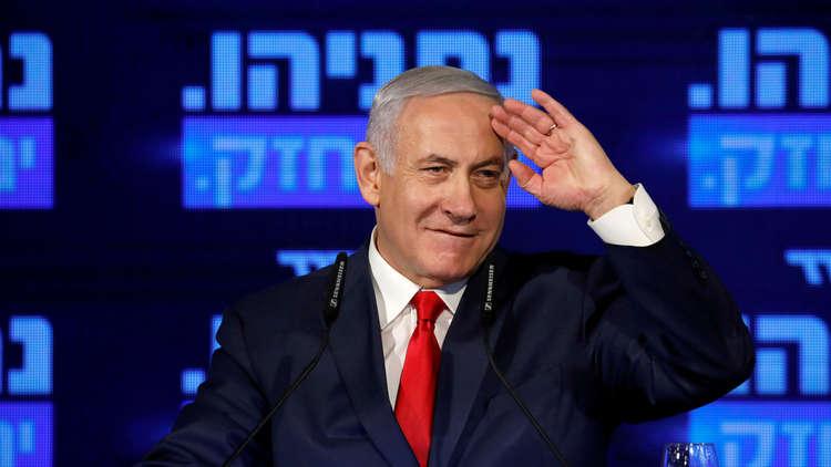 نتنياهو في طريقه للاحتفاظ بمنصب رئيس الحكومة