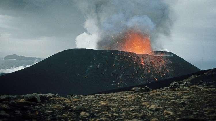 البراكين سبب اكبر كارثة في تاريخ الأرض