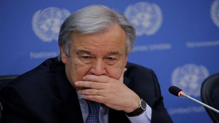 غوتيريش يسعى لإعادة إطلاق محادثات توحيد قبرص