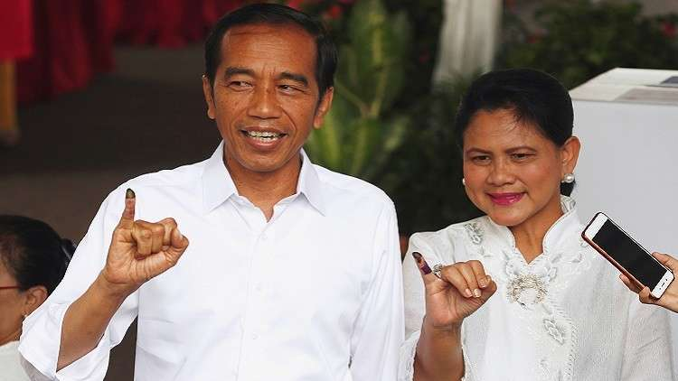 إندونيسيا بانتظار نتائج الانتخابات العامة وتسمية رئيسها الجديد