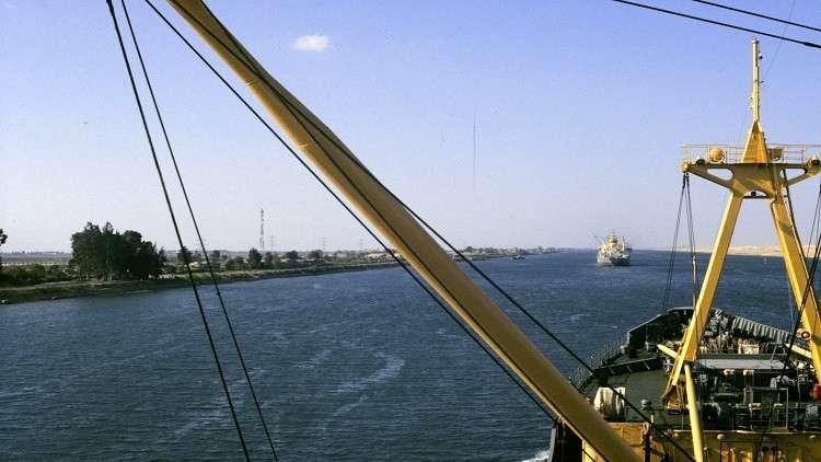 صورة ارشيفية لقناة السويس