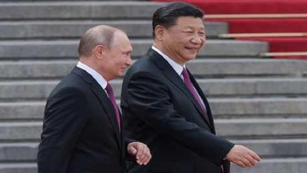 أرشيفية للرئيسين الروسي والصيني
