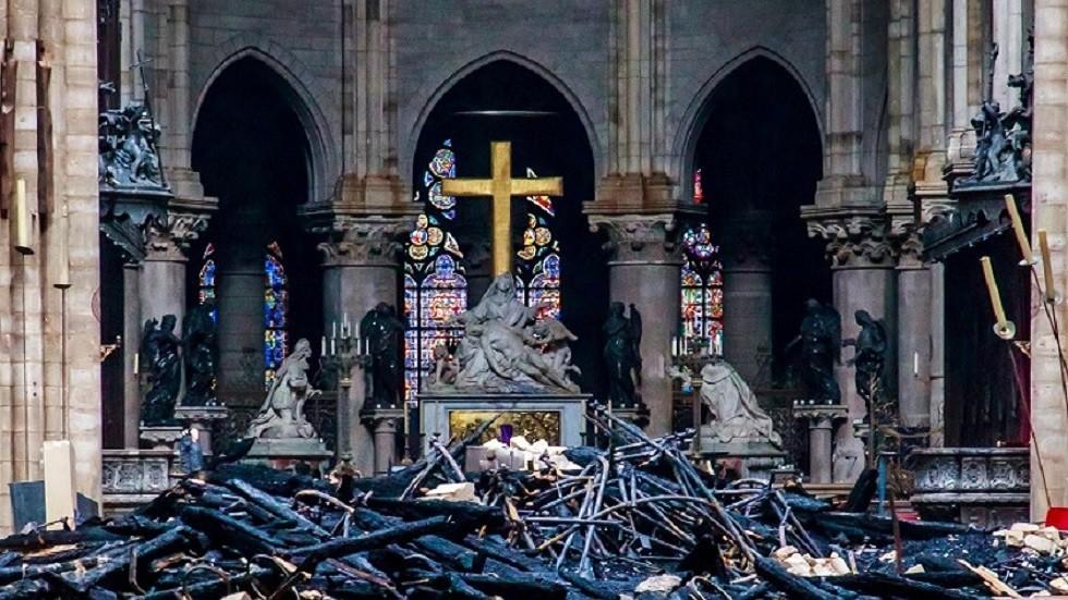 الكنيسة الأرثوذكسية الروسية: حريق نوتردام ليس من علامات يوم القيامة