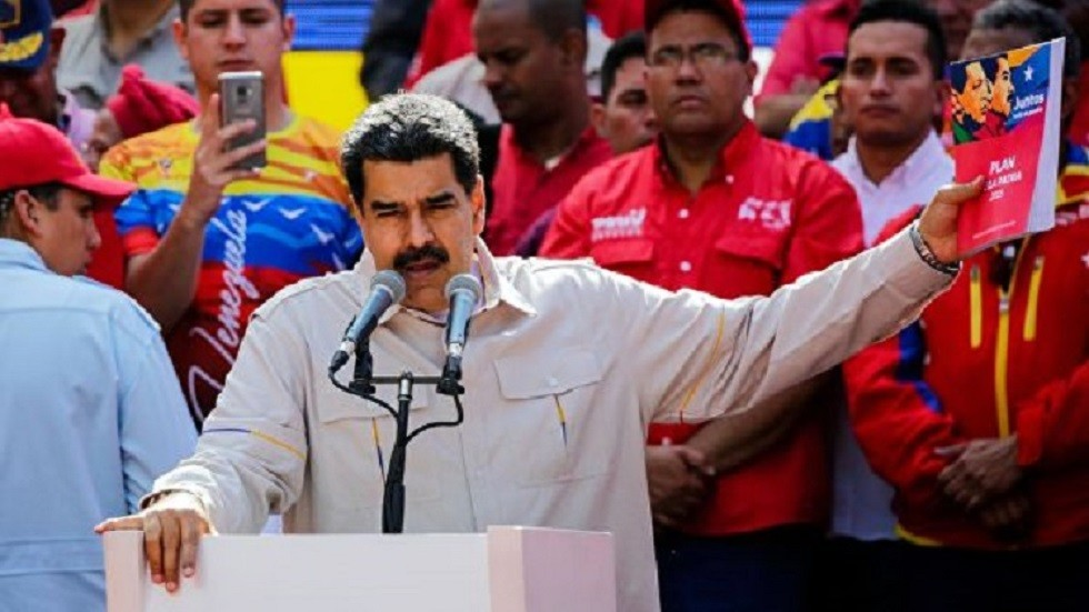 مادورو لواشنطن: عقوباتكم غير الأخلاقية ستمنحنا مزيدا من القوة والعزم