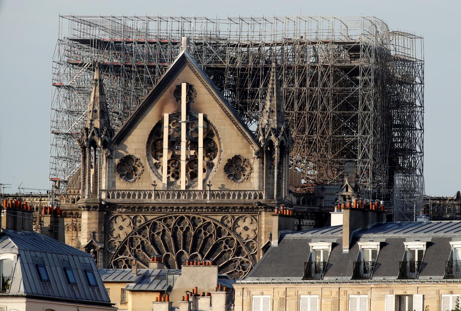موسكو جاهزة لإرسال خبرائها للمشاركة في أعمال ترميم كاتدرائية نوتردام