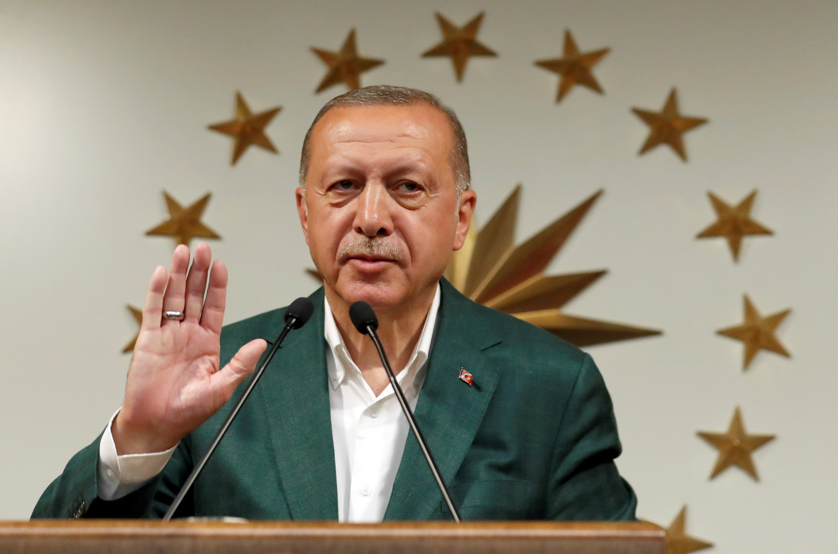 أردوغان: سنواصل الصراع حتى صدور قرار نهائي بشأن انتخابات اسطنبول
