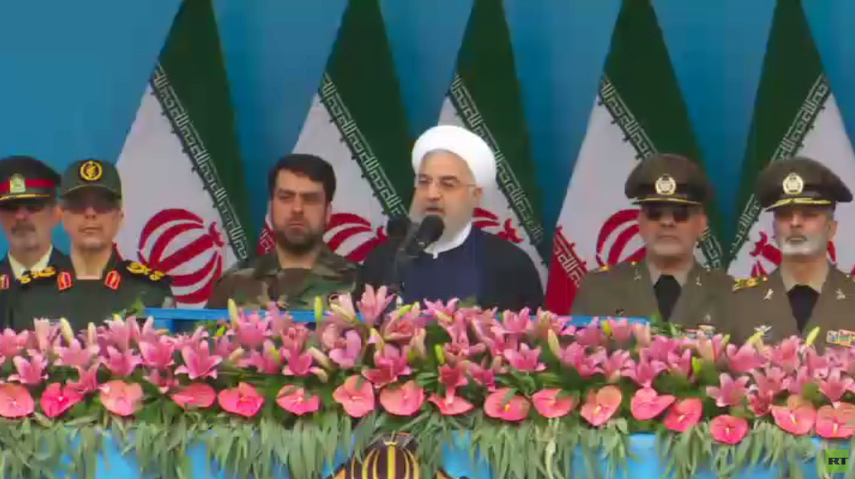 روحاني: جيشنا لا يهدد دول المنطقة