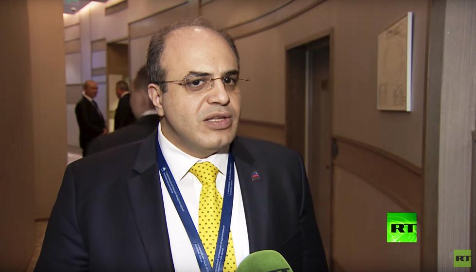 وزير الاقتصاد والتجارة الخارجية السوري محمد سامر الخليل