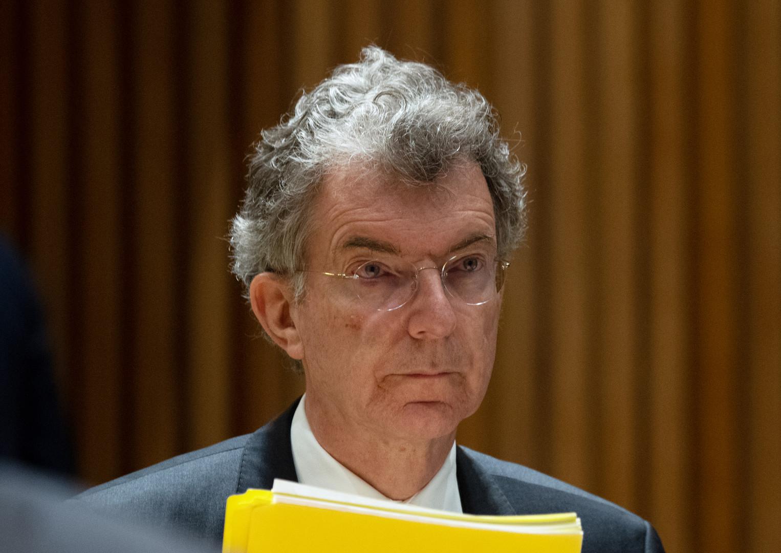 المندوب الدائم الألماني لدى الأمم المتحدة، كريستوف هويسغين