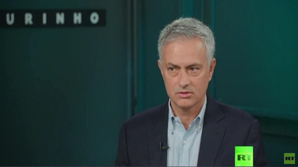 شاهد.. مورينيو يكشف عن مرشحيه لبلوغ نهائي أبطال أوروبا