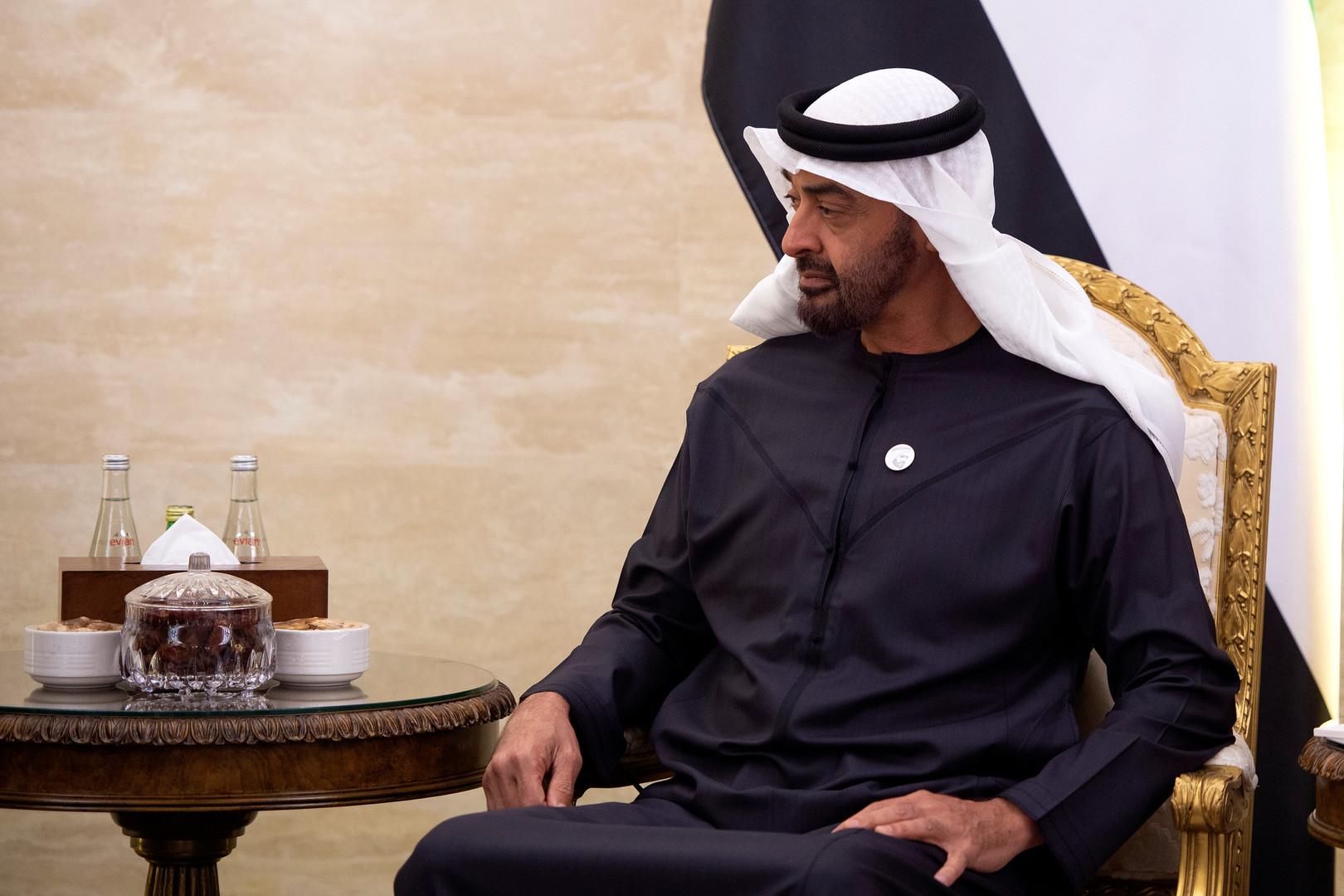 اسم ولي عهد أبو ظبي يرد في تقرير مولر