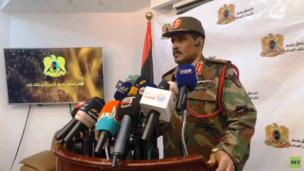 المسماري: نحارب دولا تقف وراء الميليشيات والتنظيمات الإرهابية في ليبيا