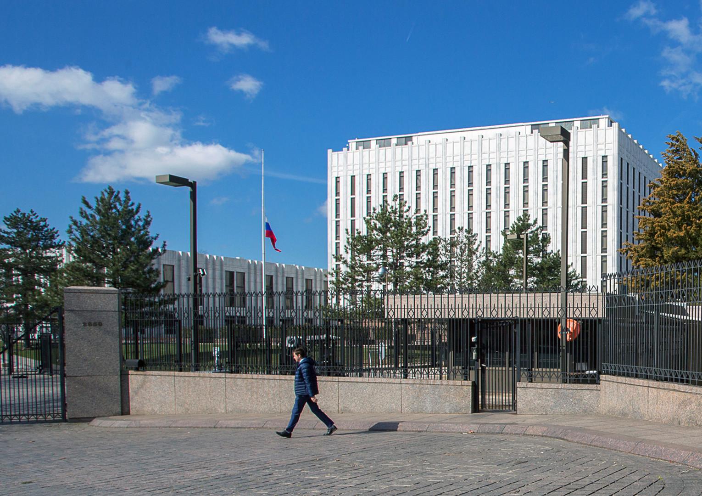 مبنى السفارة الروسية لدى واشنطن، أرشيف