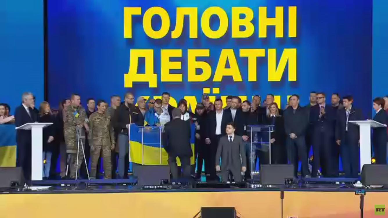 زيلينسكي: سأهدم النظام القائم بأوكرانيا