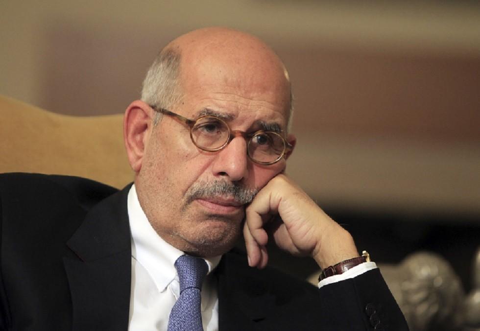 نائب الرئيس المصري السابق والمدير السابق للوكالة الدولية للطاقة الذرية محمد البرادعي