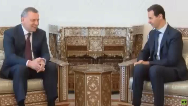 بوريسوف: ندعم دمشق في مكافحة الإرهاب