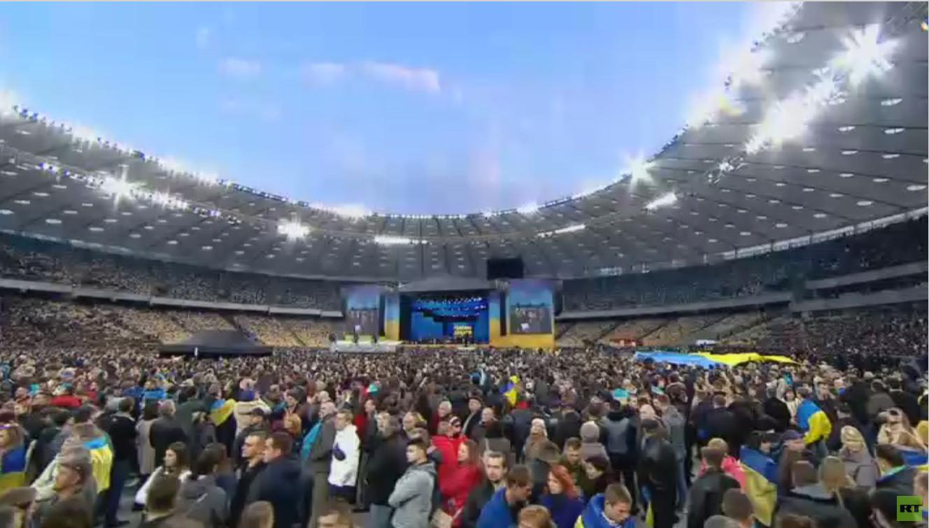 صمت انتخابي بأوكرانيا قبيل منافسة محتدمة