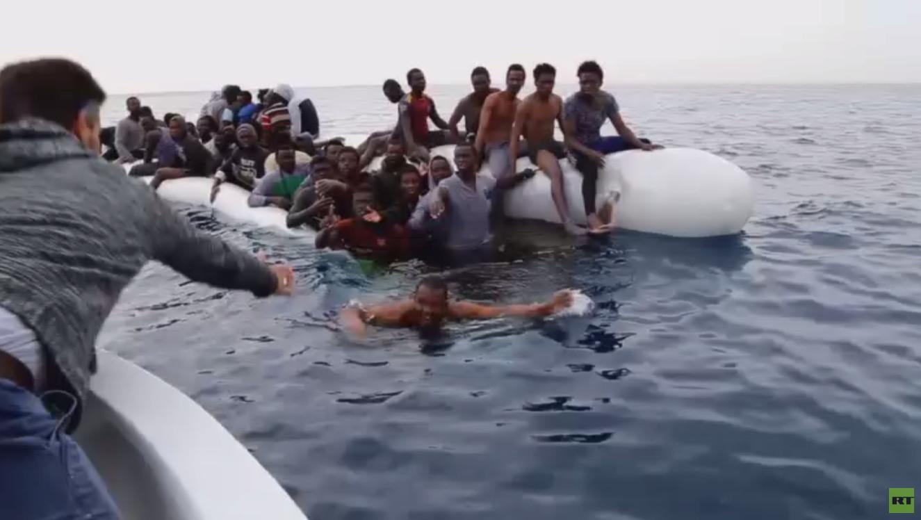 3 آلاف مهاجر عالقون بجحيم معارك طرابلس