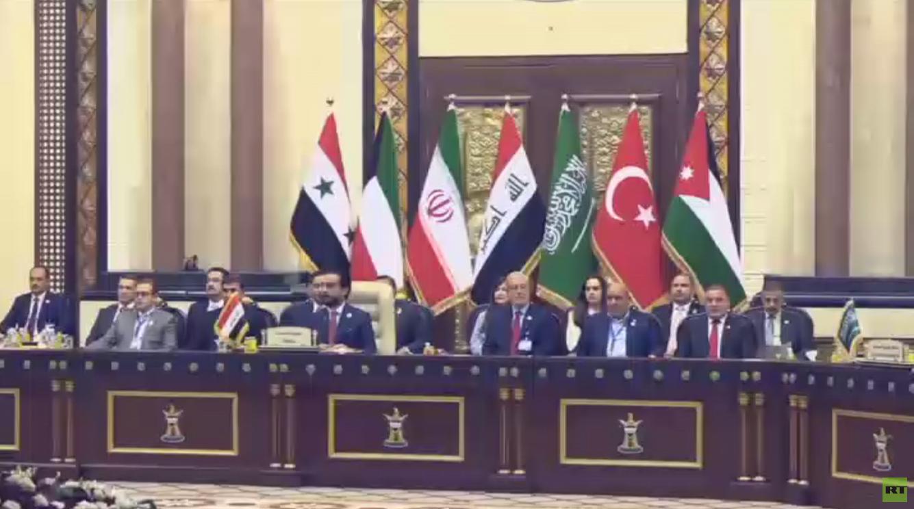 قمة جوار العراق تدعم مكافحة التطرف