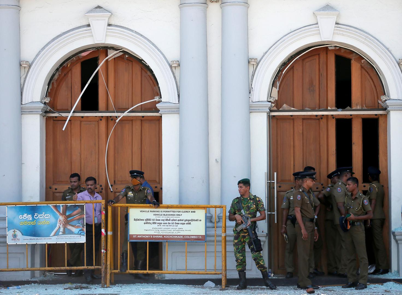 عسكريون في سريلانكا
