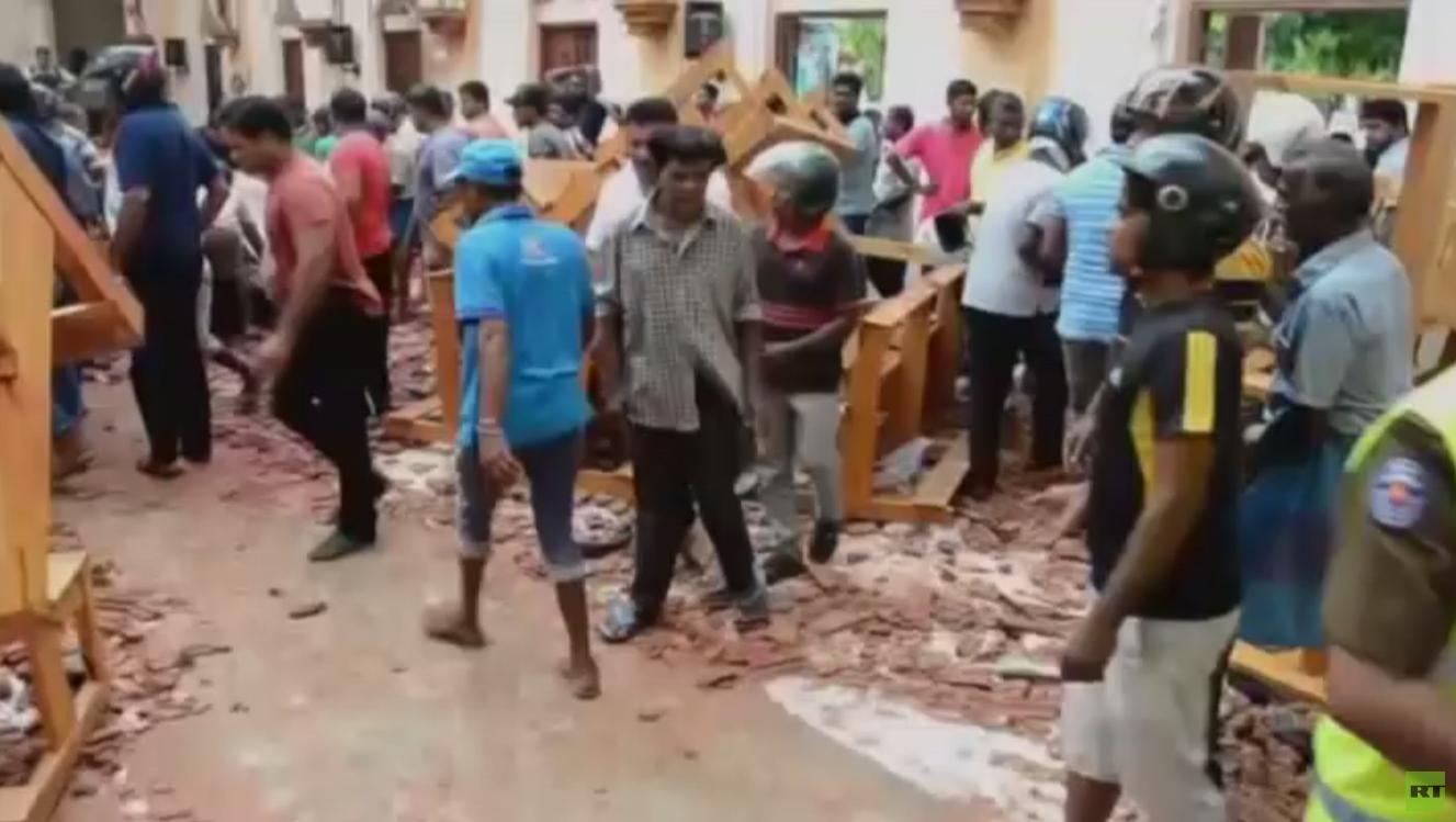 سلسلة تفجيرات تضرب سريلانكا