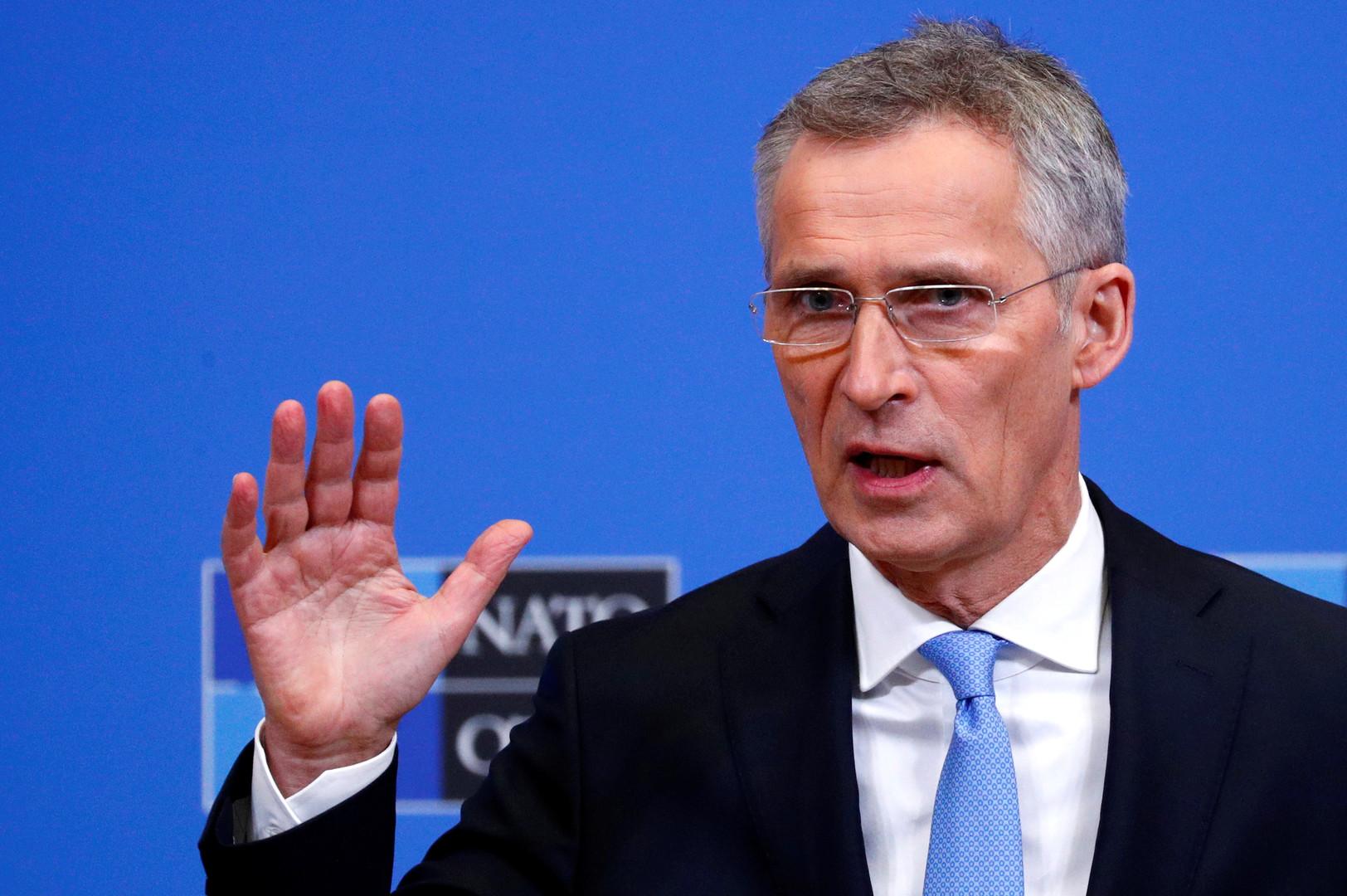 الأمين العام لحلف شمال الأطلسي، ينس ستولتنبيرغ