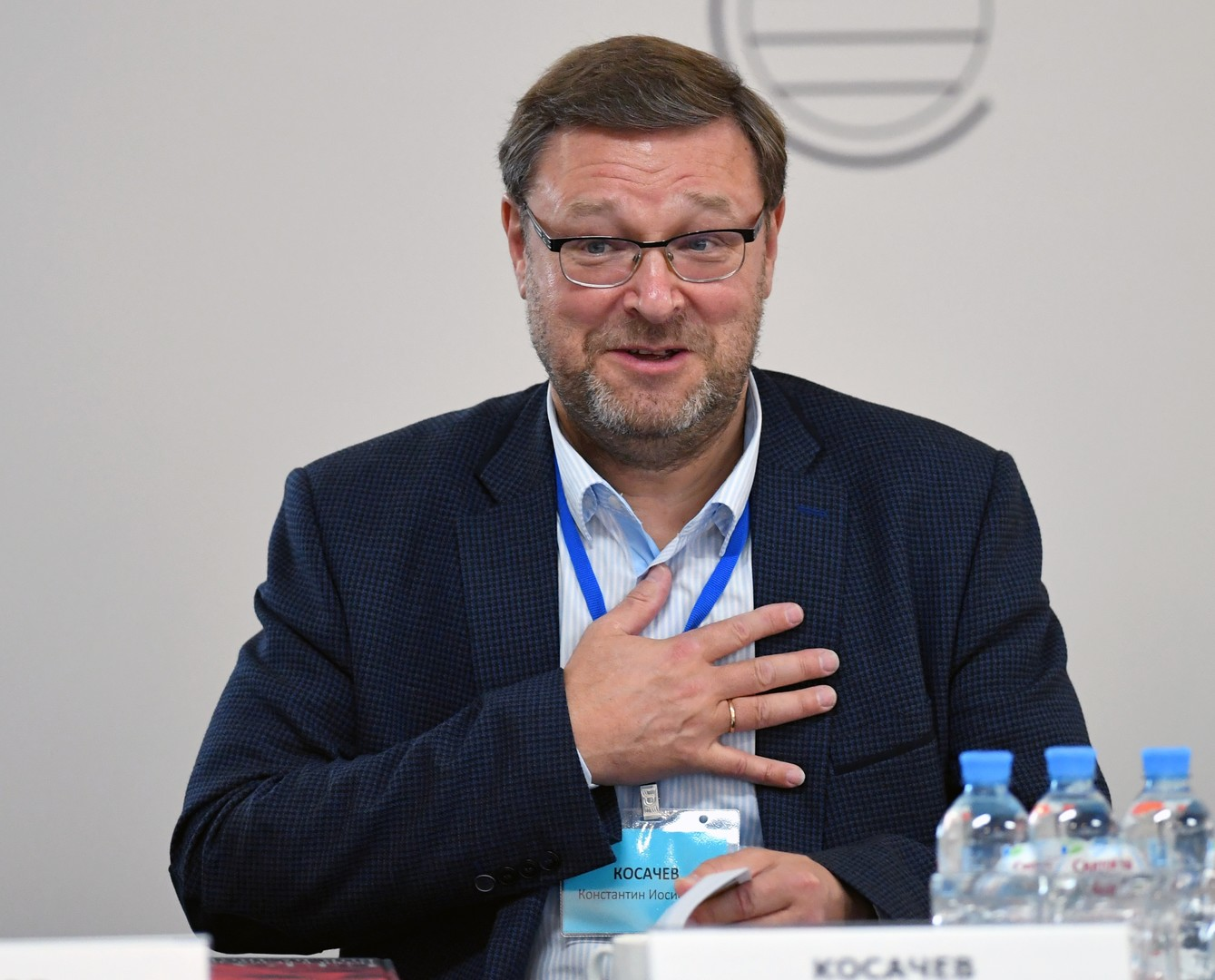 رئيس لجنة العلاقات الدولية بمجلس الاتحاد الروسي قسطنطين كوساتشوف
