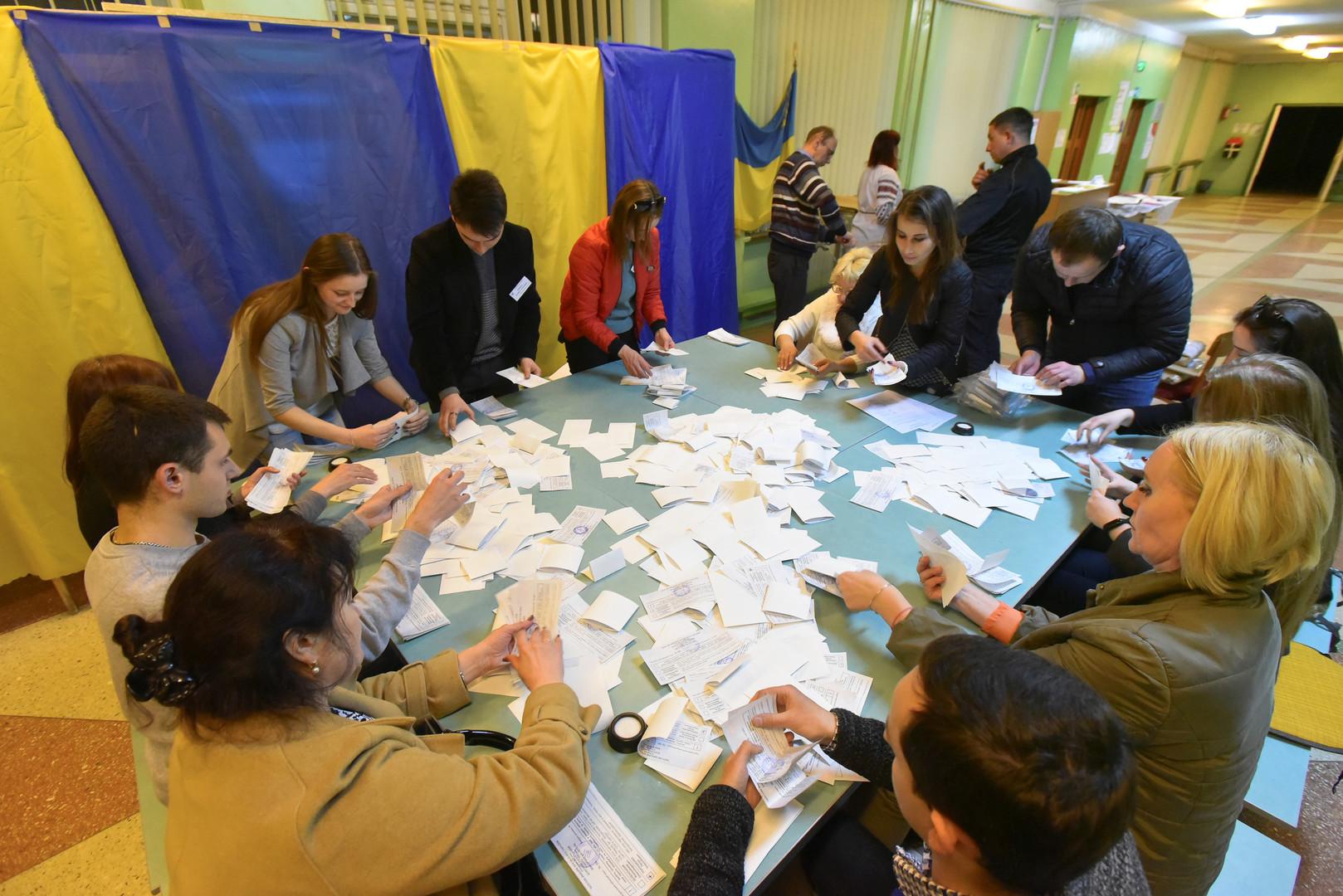 فرز الأصوات، لفيف، أوكرانيا