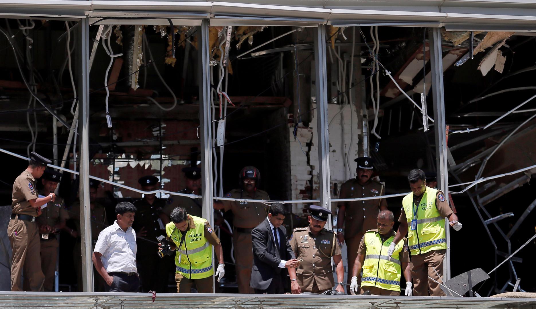 ارتفاع عدد قتلى تفجيرات سريلانكا إلى 290 شخصا وإصابة نحو 500 آخرين