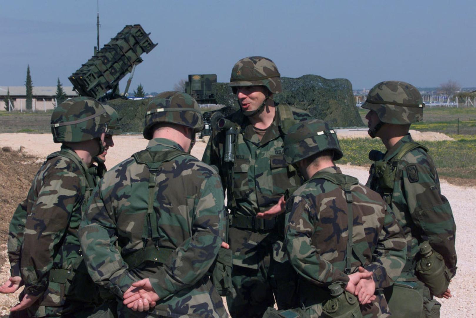 جنود أمريكيون في قاعدة إنجرليك