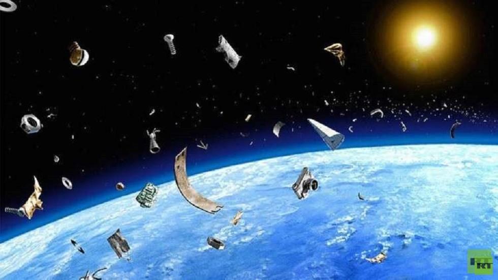 عدد هائل من النفايات الفضائية يدور حول الأرض