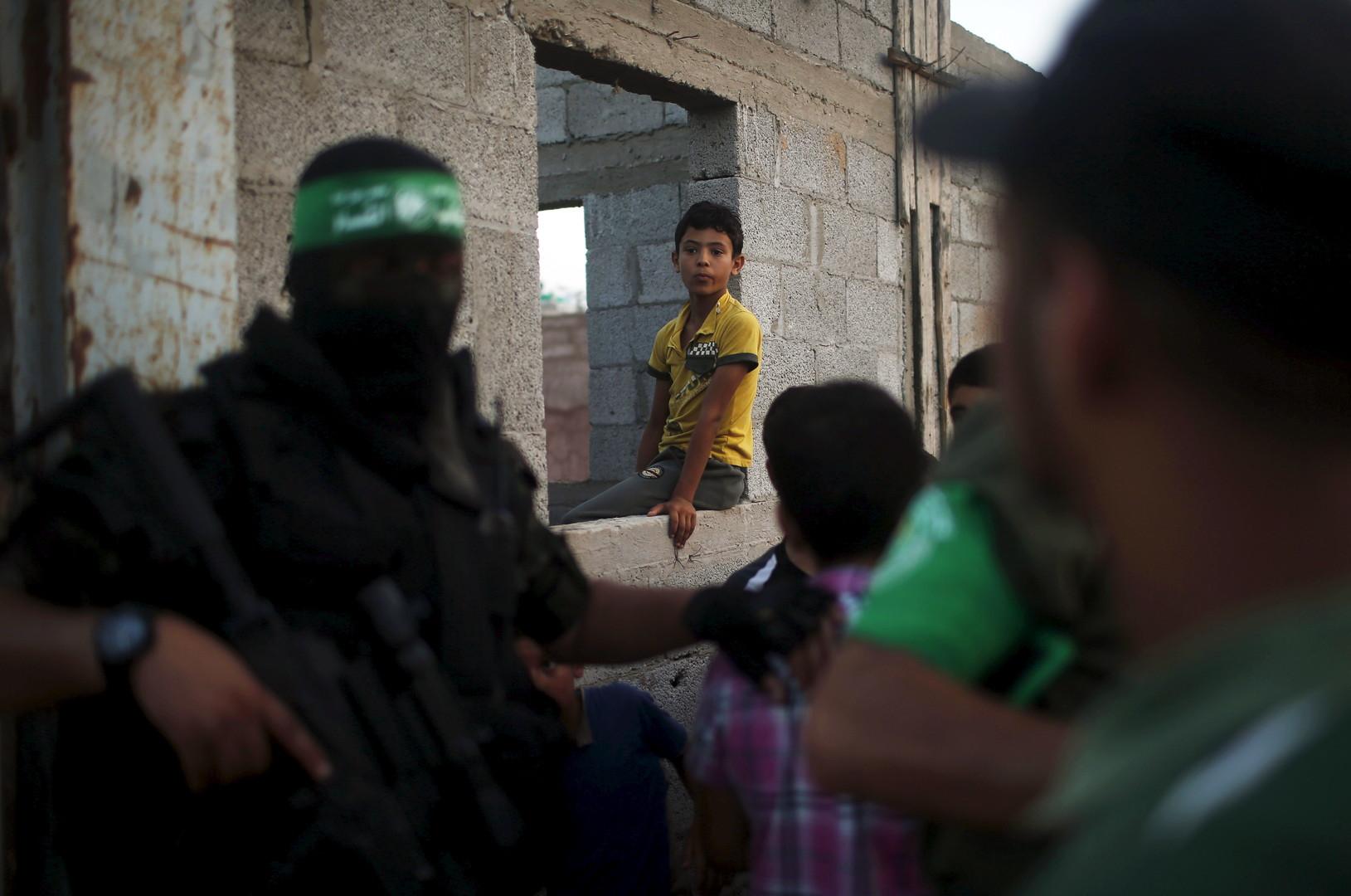 أحد عناصر حماس