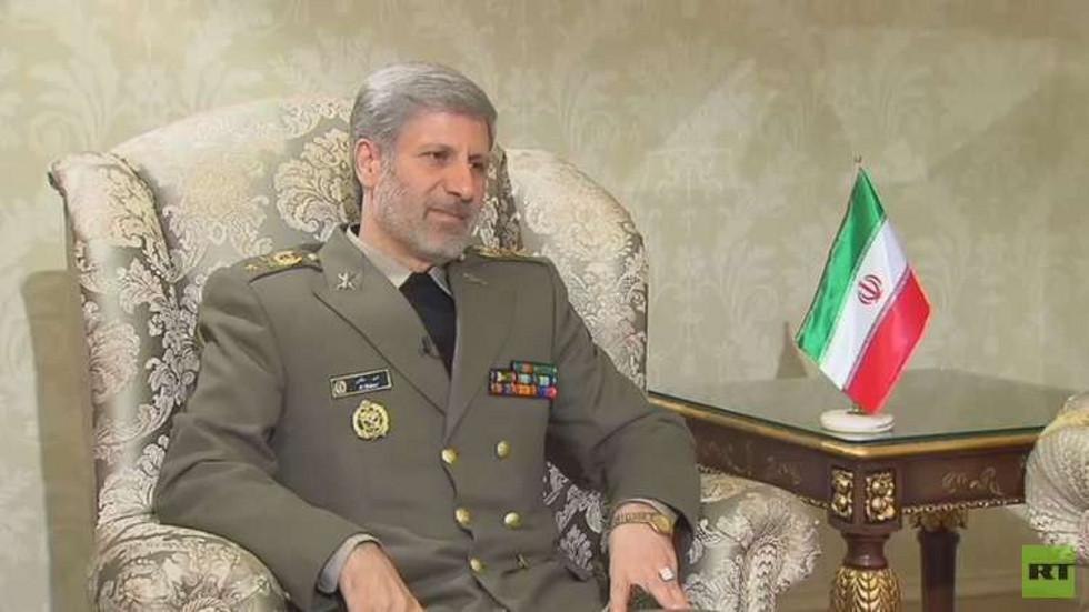 وزير الدفاع الإيراني يزور موسكو للمشاركة في مؤتمر الأمن