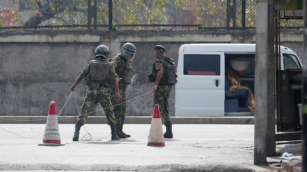 كولومبو: المحتجزون على خلفية التفجيرات هم مواطنون سريلانكيون فقط