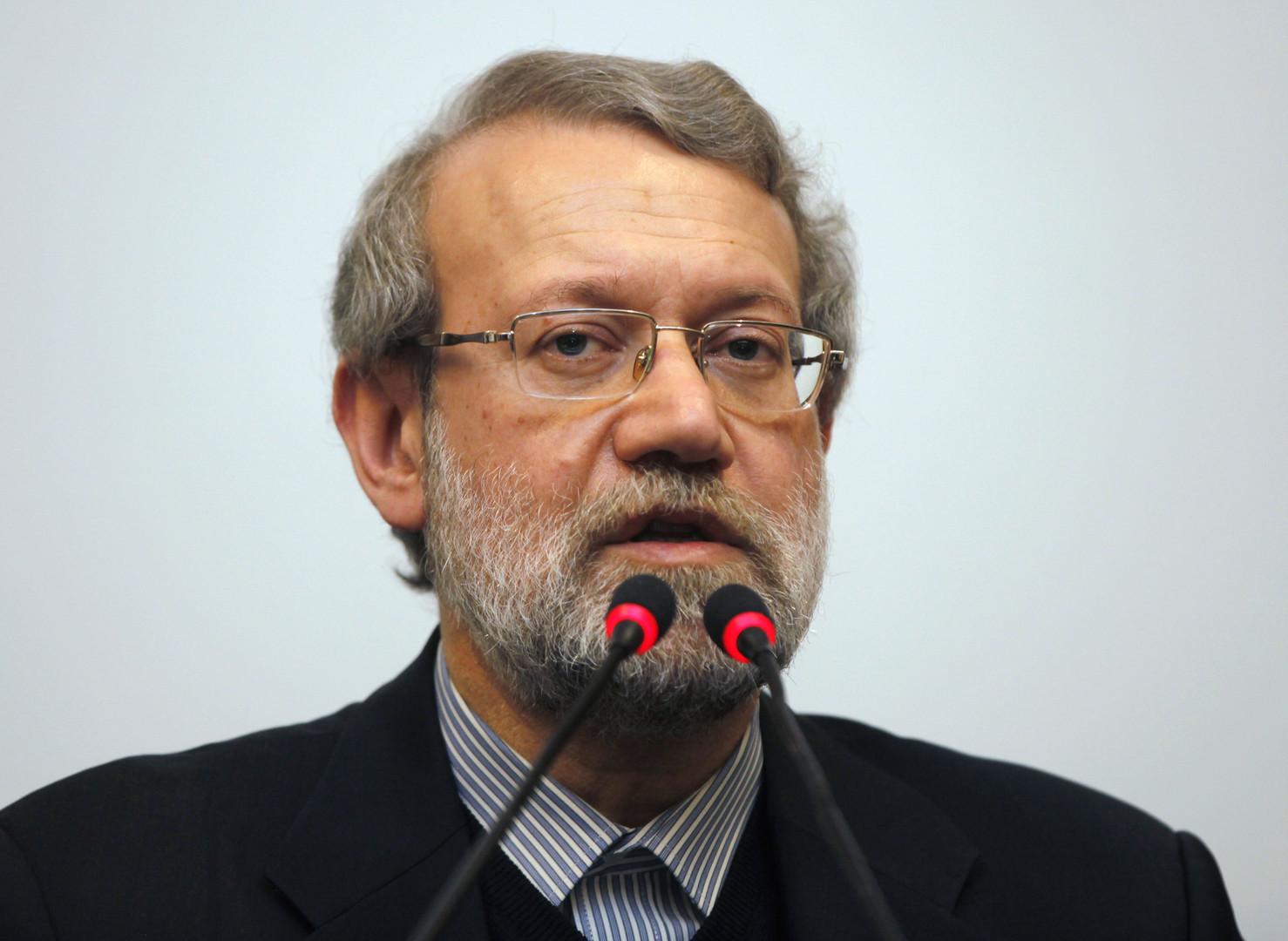 لاريجاني: تعديل قانون الانتخابات لا يهدف إلى إلغاء أهل السنة