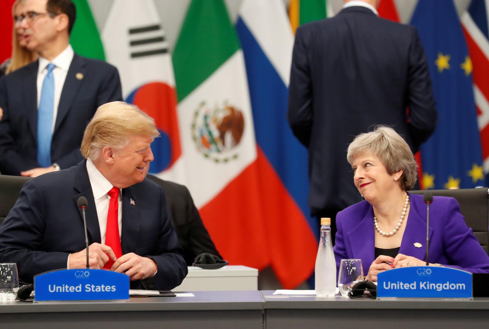 ترامب وزوجته يزوران بريطانيا في يونيو المقبل