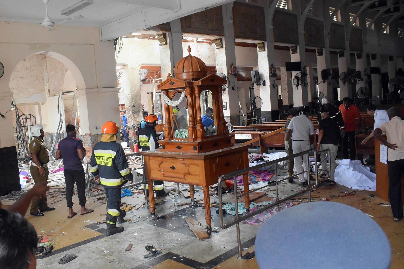 مصادر: الاستخبارات الهندية نبهت سريلانكا قبل ساعات من وقوع الانفجارات
