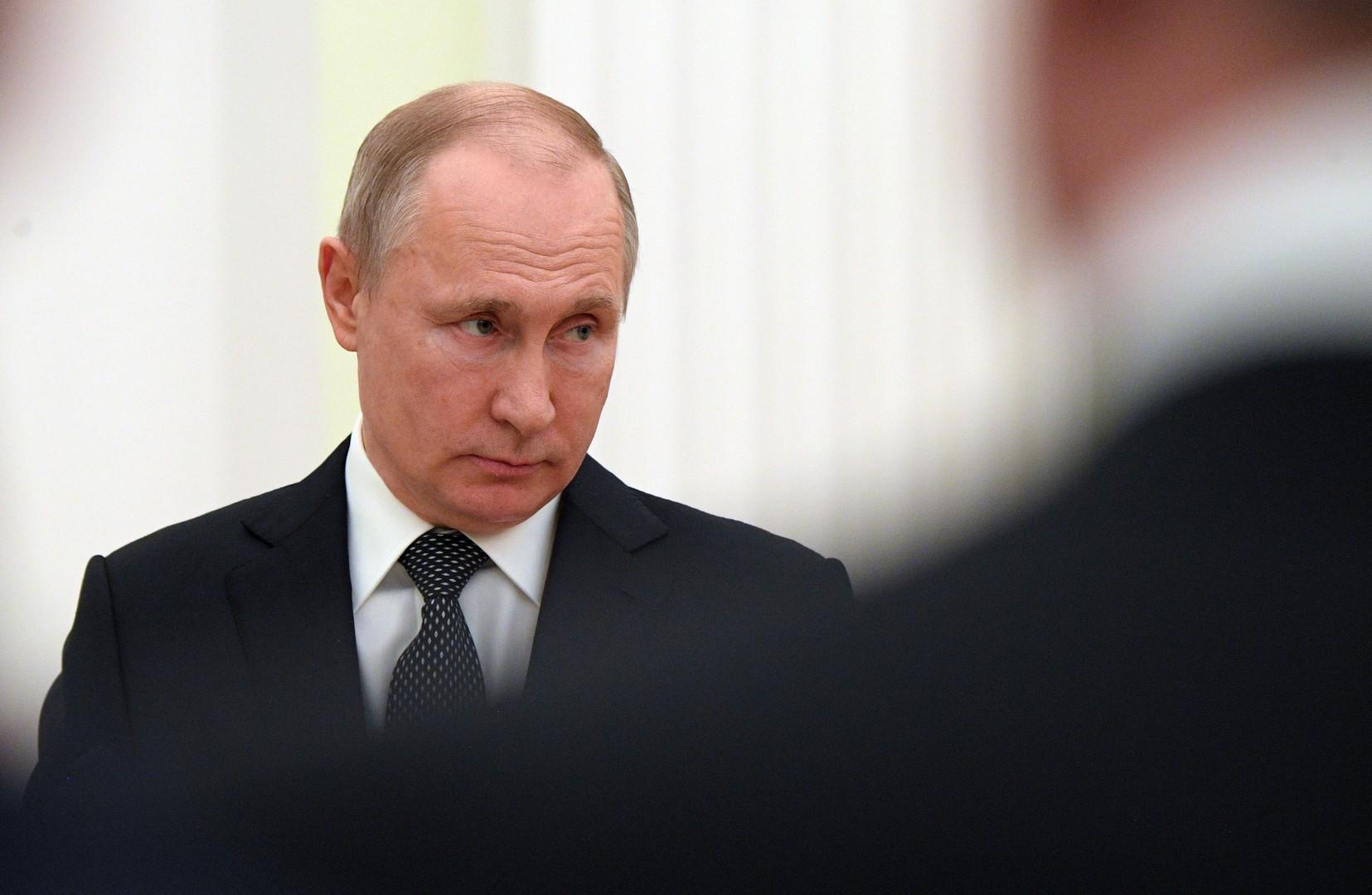 الكرملين: بوتين لا يخطط حاليا لعقد أي لقاء أو محادثات مع زيلينسكي