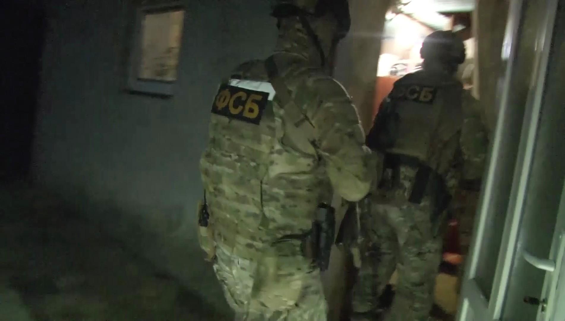 الأمن الروسي يفكك خلية إرهابية خططت للقتال في سوريا